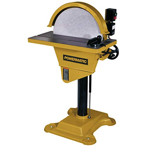 Powermatic 1791276 Model DS20 20-Inch 2 Horsepower Disc Sander with Reversing Feature, 230-Volt 1 Phase