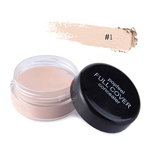 zroven Popfeel Face Concealer Cream Full Cover Mujeres Face Makeup Concealer Cosmetics