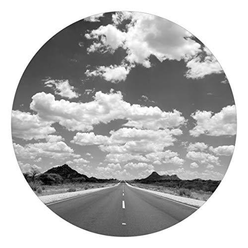 Carta da parati rotonda autoadesiva - Route 66 II 175 × 175 cm