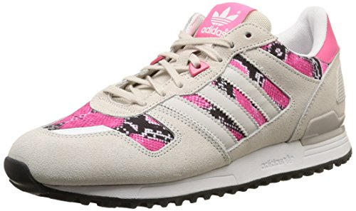 adidas Women's ZX 700 Low-Top Sneaker,Beige (Pearl Grey S14/Joy Pink S13) 4 UK (36 2/3 EU)