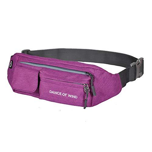Taille Bag waterafstotend nylon stof oortelefoon ontwerp multi-positionering riem dubbelkleurig optioneel unisex outdoor hardlopen fitness mountaineering
