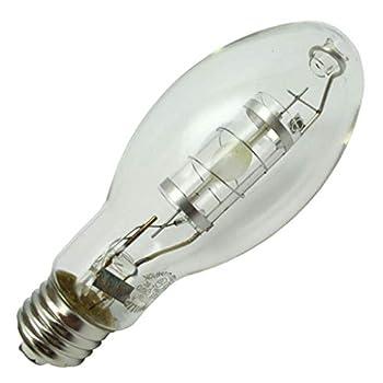 Philips Lighting MasterColor MHC100/U/MP/3K Elite HID Metal Halide Lamp 100 W Ceramic Metal Halide Lamp ED17P Shape