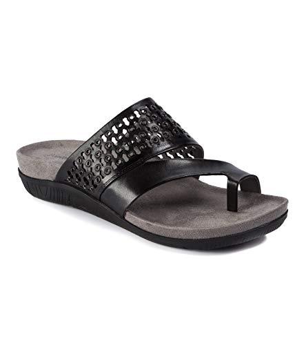 BareTraps Juny Women's Sandals & Flip Flops Black Size 7 M (BT25628)