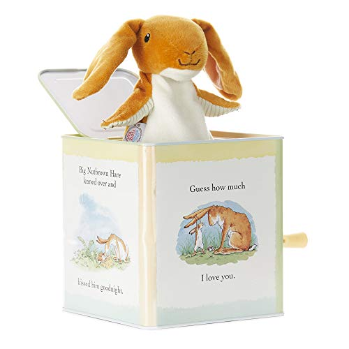 Guess How Much I Love You - Nutbrown Hare Jack-in-The-Box - Musical Toy for Babies (Pop Goes The Weasel Jack In The Box)