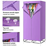 Forwei Home Electric Clothes Dryer 1000W Large Capacity Stainless Steel Energy-Efficient Indoor Wet