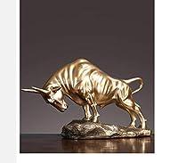 彫像彫像彫刻彫像動物雄牛装飾手工芸品ライブリビングルームワインアーク装飾品