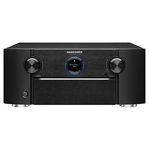 Marantz AV7704 11 2 Channel AV Audio Component Pre Amplifier Auro 3D, Dolby Surround Sound Stream music via Wi Fi, Bluetooth, AirPlay 2 HEOS, Alexa Compatibility Discontinued by Manufacturer