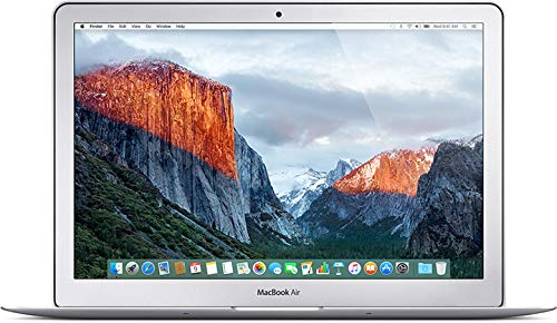 Apple MacBook Air 13.3 Inc. (2015), Intel Core i7-5650U @ 2.20GHz (up to 3.20GHz), 8GB RAM, 500GB SSD, macOS Catalina (Renewed)