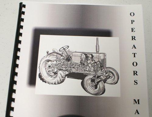 Misc. Tractors Wabco 250 Rotary Two Stage Portable Air Compressor (Models 250 RG2-A, RG2-C, RG2-E, & RG2-U, & 250 RD2-A, RD2-C, RD2-E, RD2-U Operators Manual