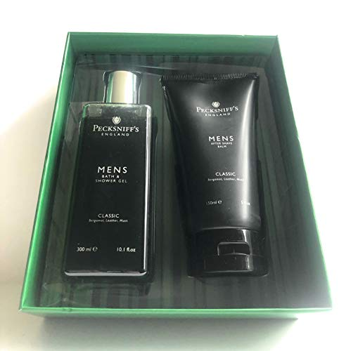 Pecksniff's Classic Mens Shower Gel And After Shave Set