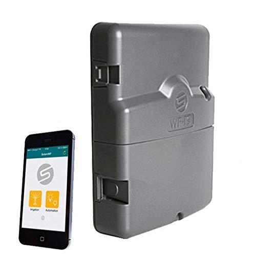 SOLEM Programador AC eléctrico 12 Estaciones controlado por WiFi