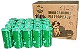 Cycluck 100% Biodegradables Bolsas de Basura Perros Extra Gruesa con Certificación...