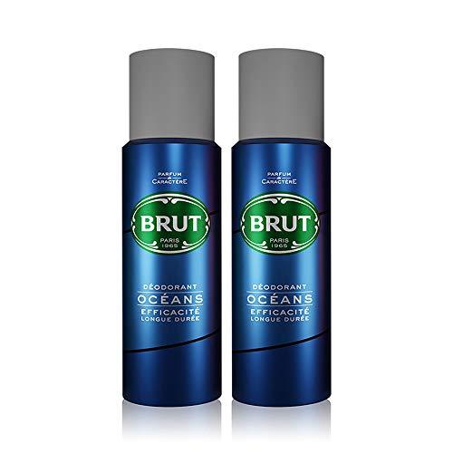 BRUT Ocean Men Deodorant, 200ml (Pack of 2)
