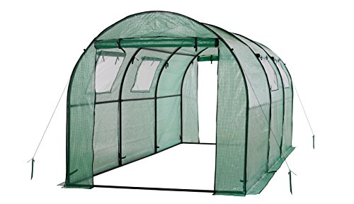 OGrow OG17778-PEG Greenhouse, 15' x 6' x 6', Green