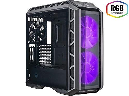Cooler Master MasterCase H500P – Case per PC RGB con Due Ventole da 200 mm Ottimo Flusso D'Aria, Pannelli Fatti per Costruttori, Predisposto per Dissipazione a Liquido
