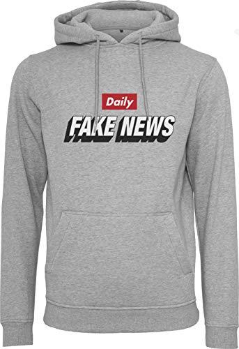 Mister Tee Daily Fake News Hoody Hoodie Kapuzenpullover (XL)