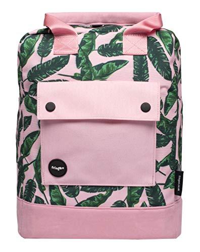 FRINGOO Damen Rucksack Mädchen Schultasche Urban Reisetasche Slim Skandinavisches Design Laptop 'Dalston' Rucksack für Jugendliche Handgepäck
