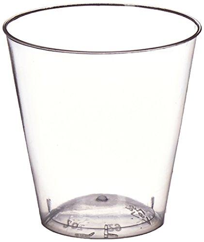 EMI Yoshi EMI-YCWSG2C Glasses Shot-Gläser, plastik, farblos
