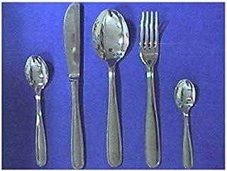 Pinti Inox - Juego de 12 Cuchillos de Acero Inoxidable para Mesa uno