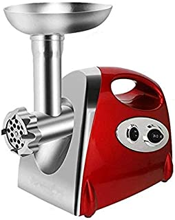 Meat Grinder Stainless Steel Electric Meat Grinder and Household Sausage Machine Meat Grinder Chopper, Shredder-Powerful 2...