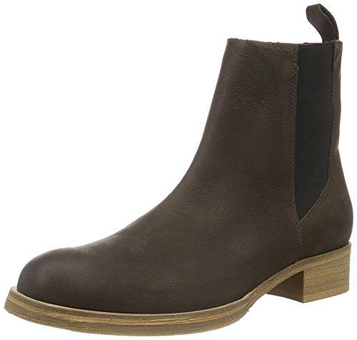 Liebeskind Berlin Damen LS0120-grain Chelsea Boots, Bittersweet Brown, 38 EU