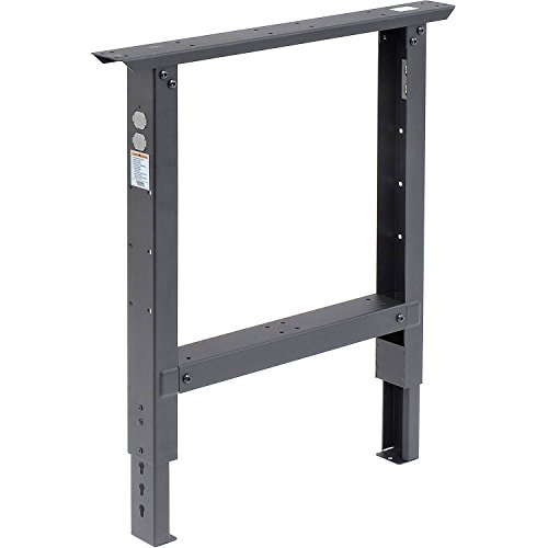 Adjustable Height Leg For 30' Bench, 29' to 35', Black