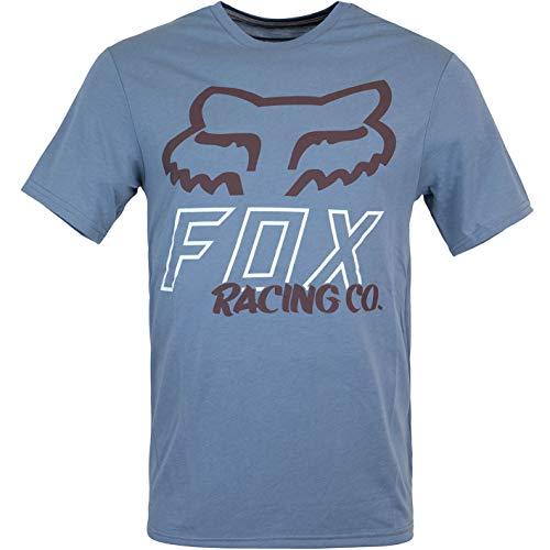 Fox Hightail Tech - Camiseta para hombre azul M