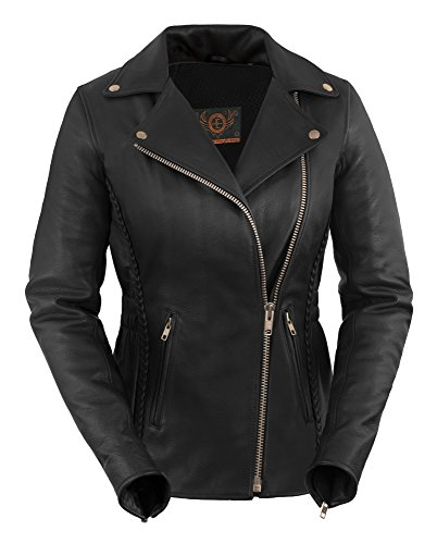 All Season Women's Leather Motorcycle Jacket