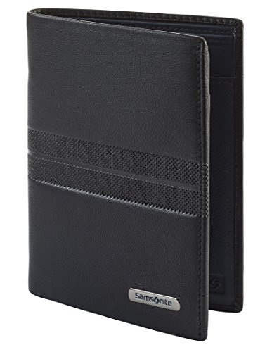Spectrolite SLG - Wallet for 6 Creditcards, 2 Compartments Tarjetero, 12 cm, 0 Liters, Negro (Black/Night Blue)