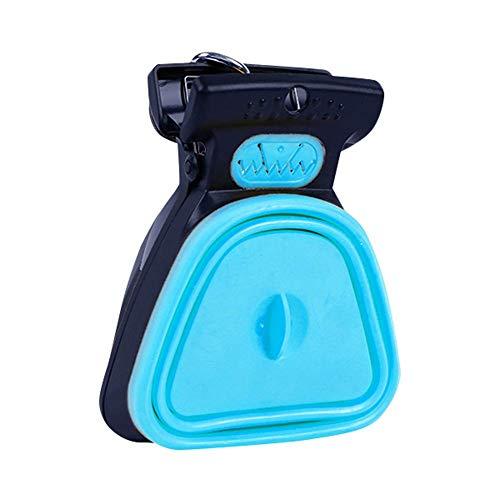 Beverl Hundekotschaufel, faltbar, für Haustiere, zum Reinigen von Kotschaufeln, blau, Large