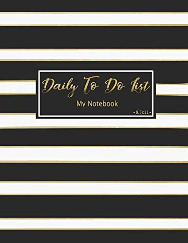 Daily To Do List Notebook: Daily Work Task Checklist | Daily Task Planner | Checklist Planner School Home Office Time Management | Checkboxes | ... (To Do List Prioritize Task Notebook, Band 4)