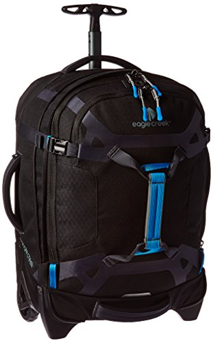 Eagle Creek Erweiterbarer, leichter Rollkoffer Load Warrior™ International Carry-On Reisetasche mit hochbelastbaren Rollen, 39 L, black