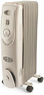 Galileo S.p.A. 2414404 - Calefactor (Calentador de aceite, Aceite, 1,55 m, Interior, Piso, Blanco)