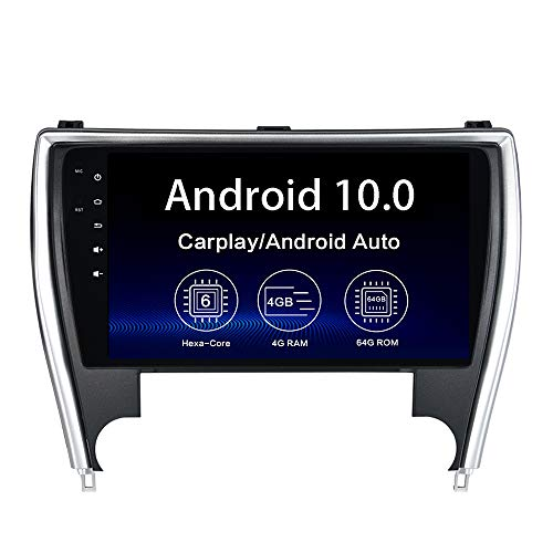 "Dasaita 10.2"" Android 10 Radio for Toyota Camry 2015 2016 2017 bluetooth Stereo GPS Navigation WIFI DSP Android Auto Head Unit 1280 X 720 HD Wireless Carplay"