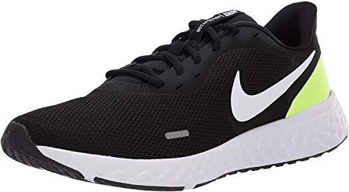 Nike Revolution 5, Scarpe da Corsa Uomo, Black/Grey Fog-Volt-White, 44 EU