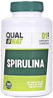 Espirulina Comprimidos | Saciante + Proteina + Vitaminas | Más Energía y Vitalidad | Mejora tú Rendimiento Deportivo |100% Natural | Spirulina 360 Comprimidos