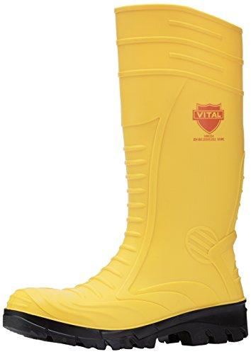 Botas de agua amarillas para hombre