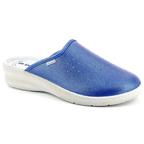 inblu Pantofole Ciabatte SANITARIE Donna MOD. 50-33N Jeans (35 EU)