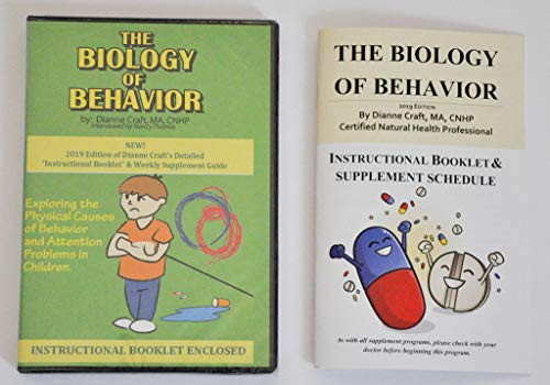 The Biology Of Behavior by Dianne Craft M.A., CNHP