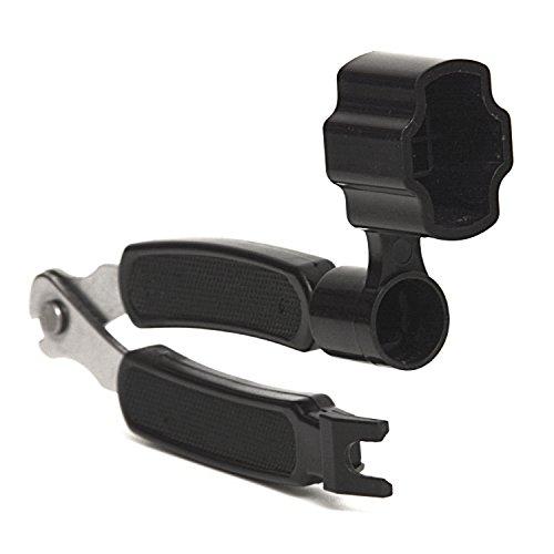 Elagon (GSW) Enrollador de cuerdas de guitarra + cortador de cuerdas + extractor de pernos de cuerda todo en uno para el reemplazo rápido de cuerdas.