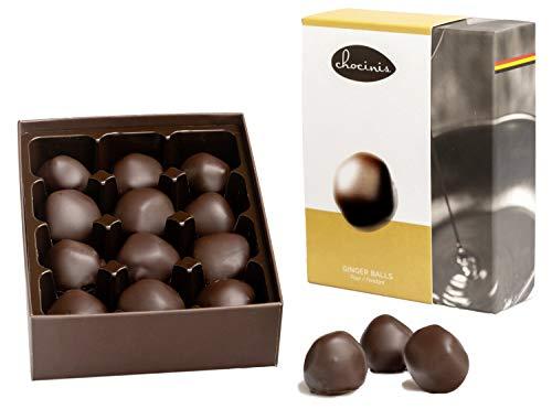 Duva Premium GemberBallen Omhuld door Belgische Pure Chocolade 200g