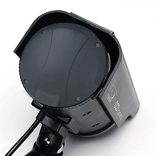 Masione 4 Pack Outdoor Fake/Dummy Security Camera with 30 Illuminating LED Light (Black) CCTV Surveillance