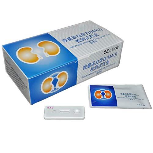 Fantastic Deal! 25Pcs Urinary Albumin Test Strip Card - Disposable, Microalbuminuria Diagnostic Kit