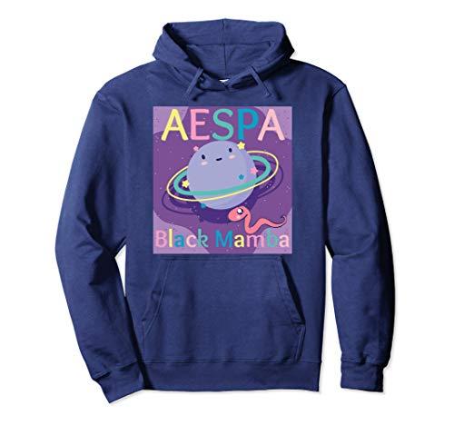 AESPA Black Mamba Shirt - Aespa Hoodie - Aespa Sweatshirt パーカー
