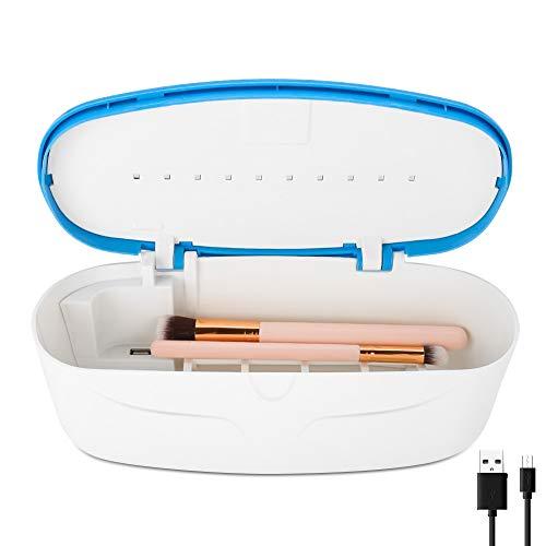 Iadong UV Sterilisator LED Desinfektion Gerät, Hochtemperatur Kasten Desinfektions Box Reinigung Werkzeug ideal für, schönheit werkzeuge, kinderspielzeug, Makeup Bürsten, zahnbürste etc