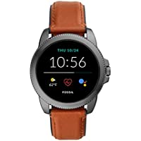 Fossil Men's Gen 5E 44mm Stainless Steel Touchscreen Smartwatch with Speaker, Heart Rate, GPS, NFC, and Smartphone Notifications