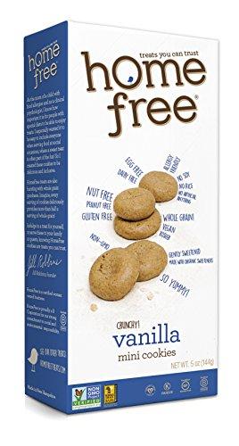 Homefree Treats You Can Trust Gluten Free Mini Cookies, 70% Organic, Vanilla - 5 Ounce
