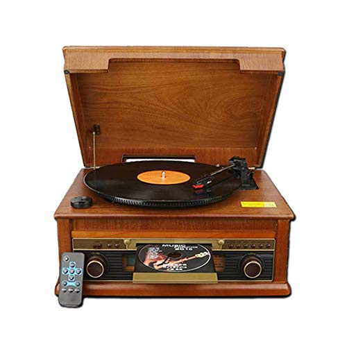 Amazing Deal Vinyl record player HEN-1978 Small Wooden Vinyl Record Player, Retro Gramophone,support...
