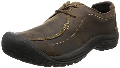 KEEN Men's Portsmouth II Casual Shoe, Dark Earth, 8.5 M US