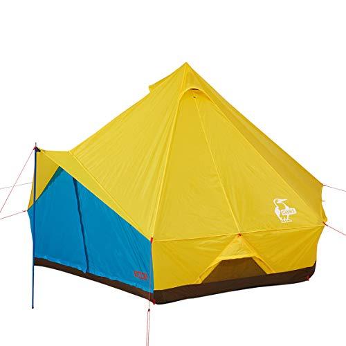 チャムス(CHUMS) テント ブービーハウス CH62-1324-Y050-00 イエロー/ブルー H260×W400×L400cm